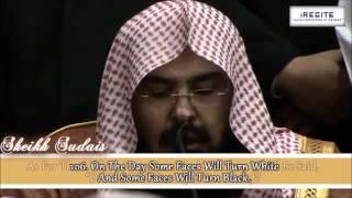 Sheikh Sudais (LIVE) - Surah Al Imran || Heart Warming Recitation || 1080pᴴᴰ
