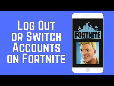 How to Log Out or Switch Accounts on Fortnite for iOS 2018