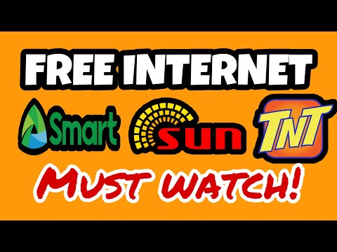 Free Internet in Smart, Sun, Tnt.