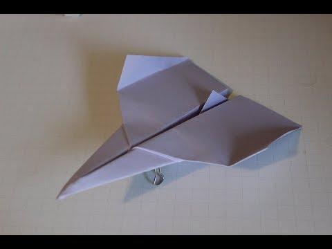 Comment faire un avion en papier: Origami | Simple