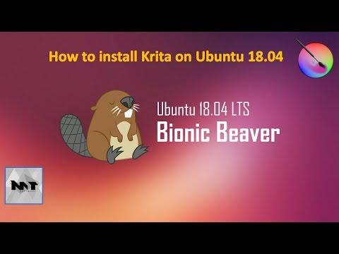 How to Install Krita on Ubuntu 18.04