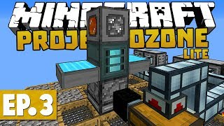 Project Ozone Lite - Mechanical User, Tinkers Smeltery