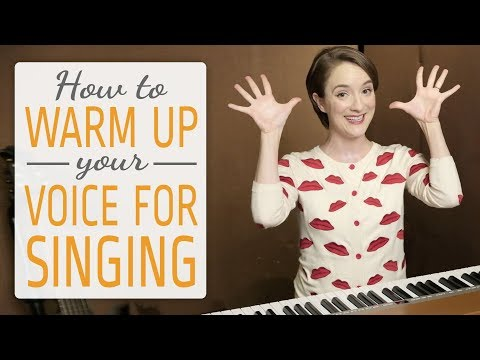 How to warm up your voice for singing (BEST 3 Exercises)