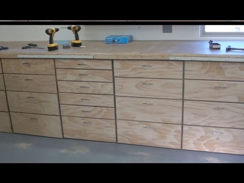 Shop Update #4 - Workbench Construction Part Two