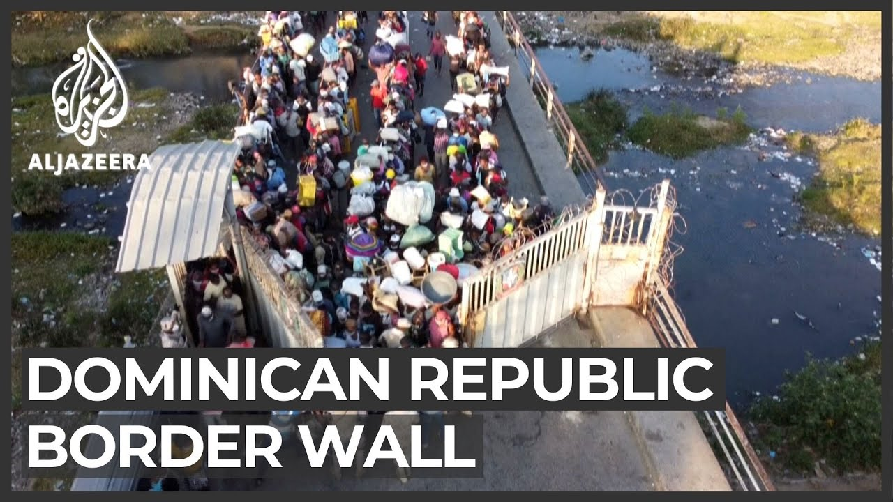 Dominican Republic to build wall in bid to keep out Haitians