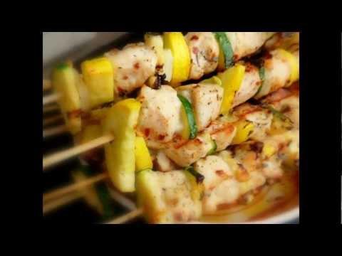 Chicken Kabobs (Chicken Skewers, Chicken Souvlaki)