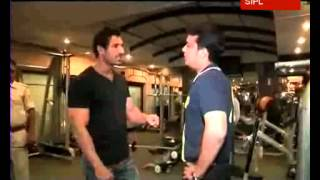 John Abraham gives tips to build a good physique to Star News