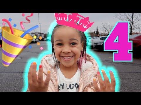 CALI'S 4th BIRTHDAY!