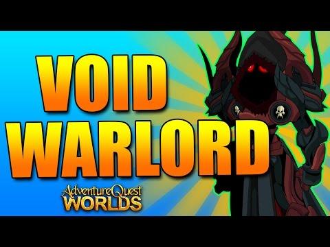 FARMING w/ VOID WARLORD CLASS AQW AdventureQuest Worlds