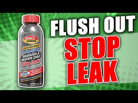 How to Flush Out Stop Leak from your Radiator and Cooling System