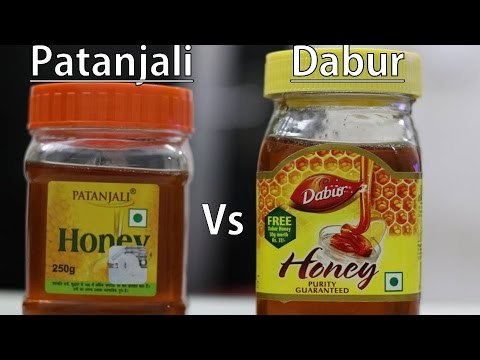 Dabur Honey Vs Patanjali Honey | Dabur Honey Review | Patanjali Honey Review