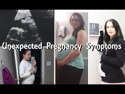 Unexpected Pregnancy Symptoms