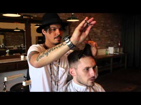 David Beckham / Nick Wooster Inspired Hairstyle - New 2013 Men's Short Haircut