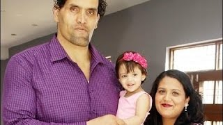 The Great Khali Family Rare and Unseen Images