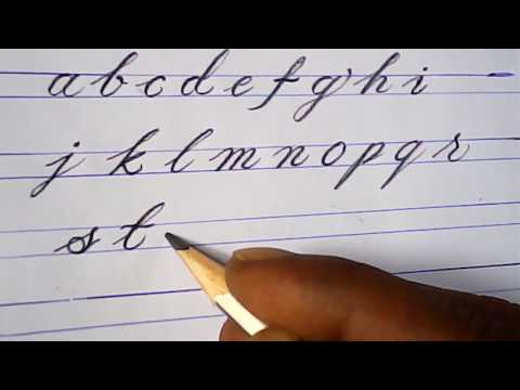How to write english small letters | pencil writing tutorials | mazic writer