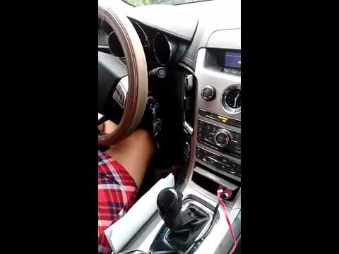 Shaking leg in the car