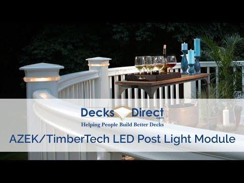 DeckLites LED Post Light Module By TimberTech