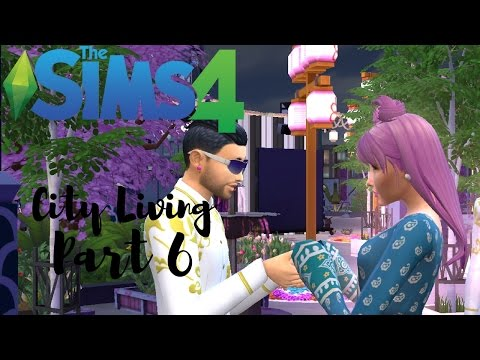 The Sims 4: City Living | Part 6- A Budding Romance for Penelope?