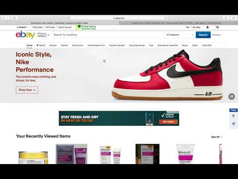 How to Make Your First Dollar Online  (Ebay Dropshipping)