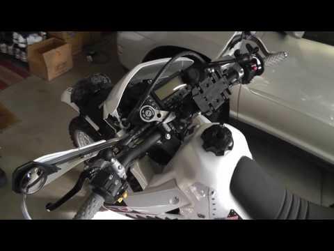 $18 PowerMadd Mirrors for Dual Sport bikes DRZ400