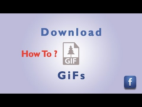 How To Download GiFs From Facebook | 2016