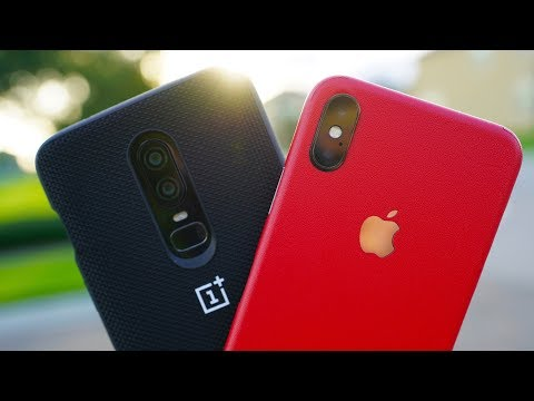 OnePlus 6 vs iPhone X Camera Comparison Test