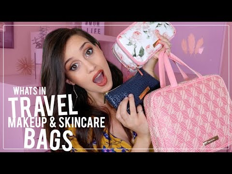 What's In My Travel Makeup & Skincare Bags!