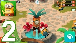 Minions Paradise - Gameplay Walkthrough Part 2 - Level 3-5, Bob (iOS, Android)
