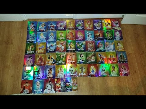 The Ultimate Disney Classic DVD/Blu-Ray O-Ring Collection (Complete)