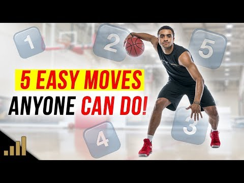 5 Easy Basketball Scoring Moves ANYONE CAN DO! (Use these simple basketball moves!)