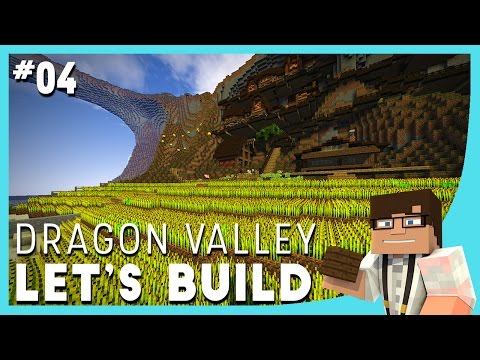 Minecraft Let's Build: Dragon Valley Ep. 4 || FARMERS - Timelapse