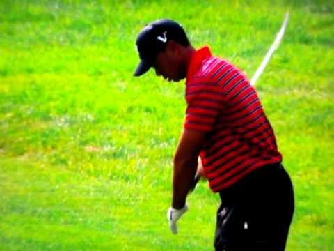 Tiger Woods - Sean Foley (Swinging Left Drill / Move)
