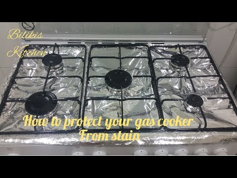 How to protect your Gas Cooker from stains.