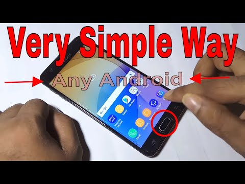 How to Take Screenshot on Samsung Galaxy, New Way 2018