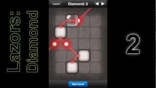 Lazors - Diamond 1-10 Answers (easiest Guide)