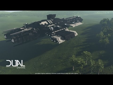 Dual Universe - Gameplay - Crafting, Space Station, Terrain Manipulation
