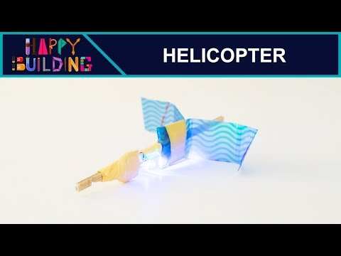How to make a Funky Helicopter! Happy Building!