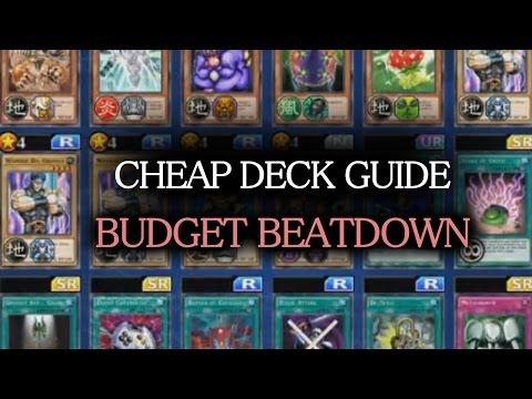[Yu-Gi-Oh! Duel Links] Deck (CHEAP) Building Guide #1: Beatdown Deck + Basic Principles