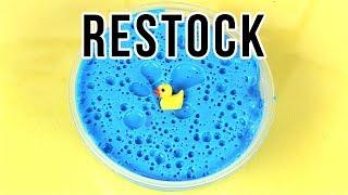 Slime Shop Restock!!! January 26, 2018 - @UniicornSlimeShop 💦
