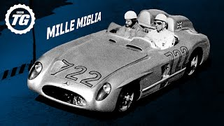 Stirling Moss vs 1955 Mille Miglia: 1000miles at 99mph | Top Gear