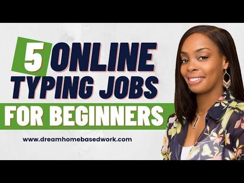 5 Online Transcription Jobs - No Prior Experience