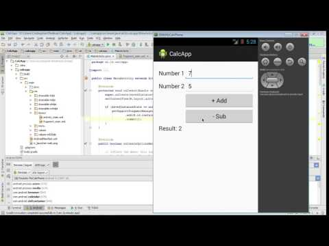 A first Android App with Android Studio including Testing