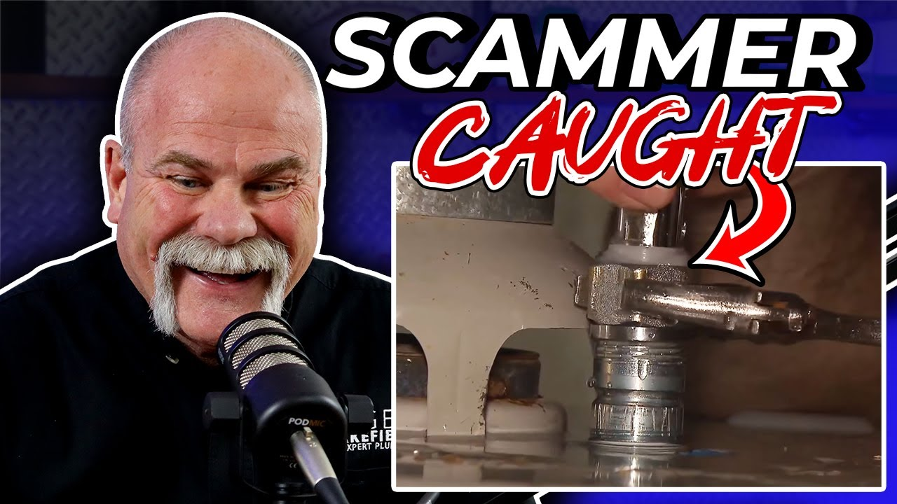 Real Plumber Reacts to the BIGGEST PLUMBING SCAMMERS