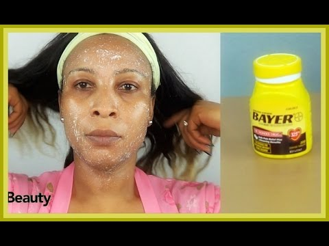 USE ASPIRIN FACIAL PEEL | Look 5 Years Younger | Get Fresh Youthful Looking Skin| Khichi Beauty