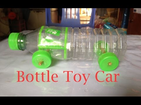 How To Make A Toy Car Using Bottle - Bottle Toy Car