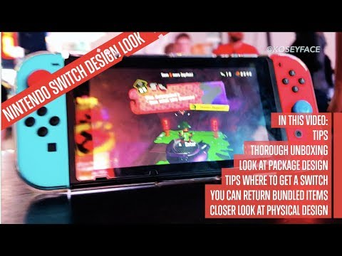 Nintendo Switch Thorough Unboxing & where to get one