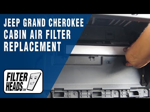 How to Replace Cabin Air Filter Jeep Grand Cherokee