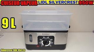 Lidl Cuiseur Vapeur Silvercrest Sdg 950 W Test Steamer