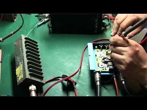 How to add cooler with delay to CBRadio power amplifier