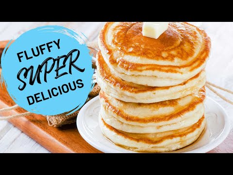 The Best Fluffy Homemade Pancakes Recipe {Regular & Gluten-Free}